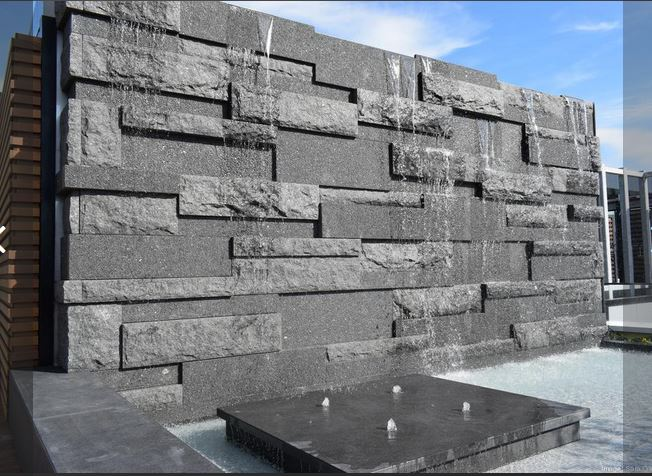 Mesabi Black granite panels